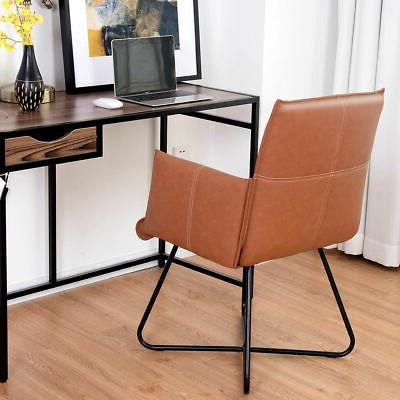 Set of 2 Chairs Seat Accent w/Metal