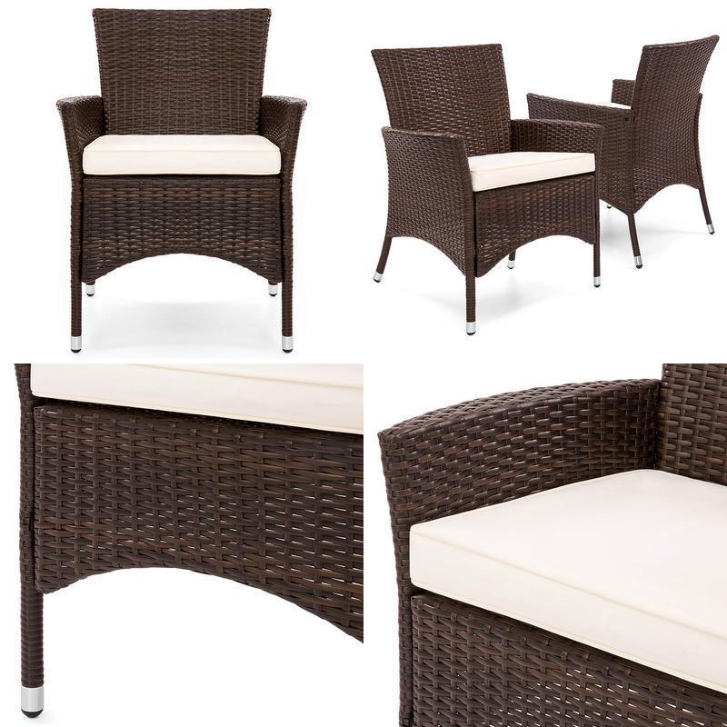 Best Choice Products Set Of 2 Outdoor Patio Wicker Dining Ch