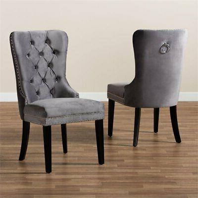 Set 2 Studio Remy Upholstered Dining Chairs
