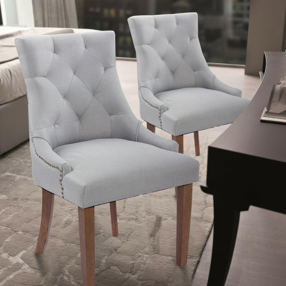 Set Dining with Rubber Wooden Legs Gray