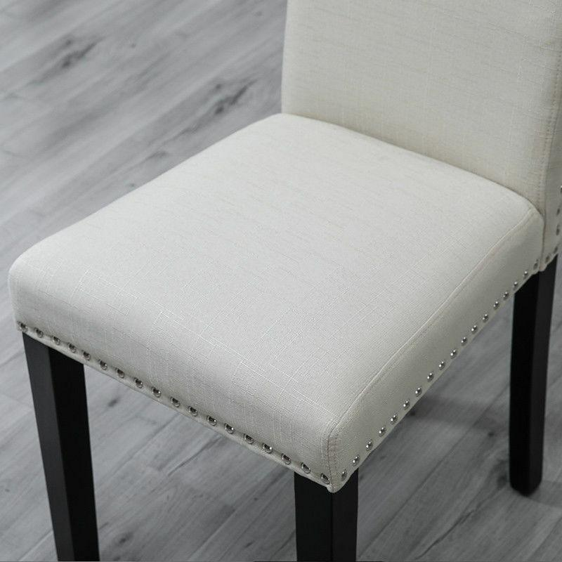 Set Dining Chairs High Fabric w/ Dining