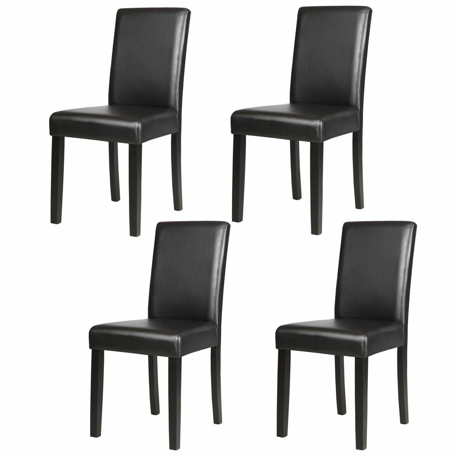 kitchen leather dining chairs