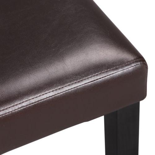 Dining Chairs of PU Leather Home Kitchen