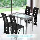 Set of 4pcs Elegant Design Modern White Leather Dining Chair