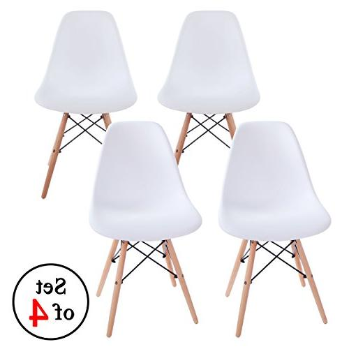 side chair wood legs eiffel