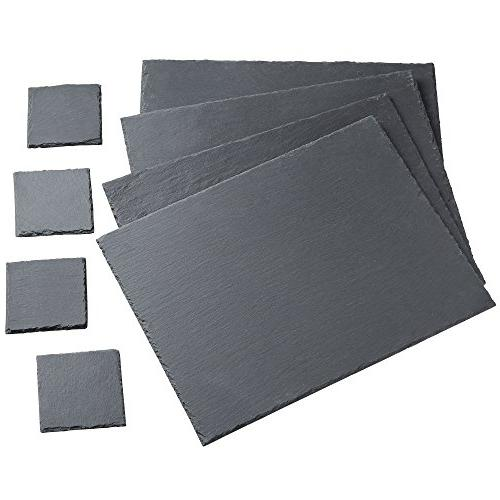 slate placemat coaster dining table