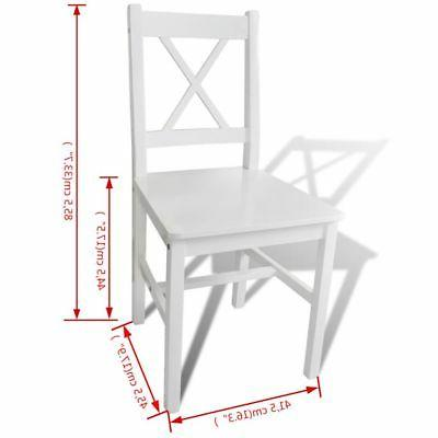 vidaXL Dining Chairs Room pcs