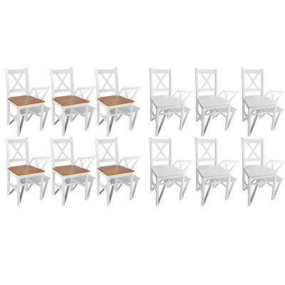 solid pine wood dining chairs kitchen dining