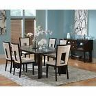 Steve Silver Delano Side Dining Chairs - Espresso - Set of 2