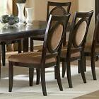 Steve Silver Montblanc Dining Side Chairs - Set of 2, Cherry
