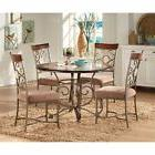 Steve Silver Thompson 5 Piece Dining Table Set - Cherry, Che