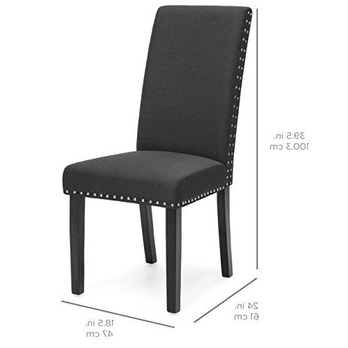 Best Choice Products of Polyester Parsons Chairs - Gray
