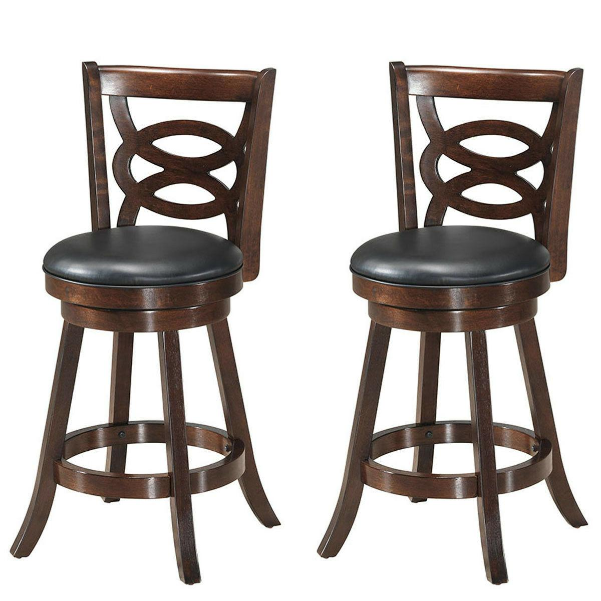swivel stool 24 counter height upholstered dining