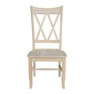 Unfinished X-Back Dining FREE SHIPPING NEW