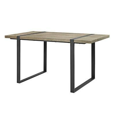 urban blend wood dining table
