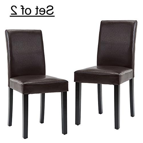 urban leatherette dining chairs