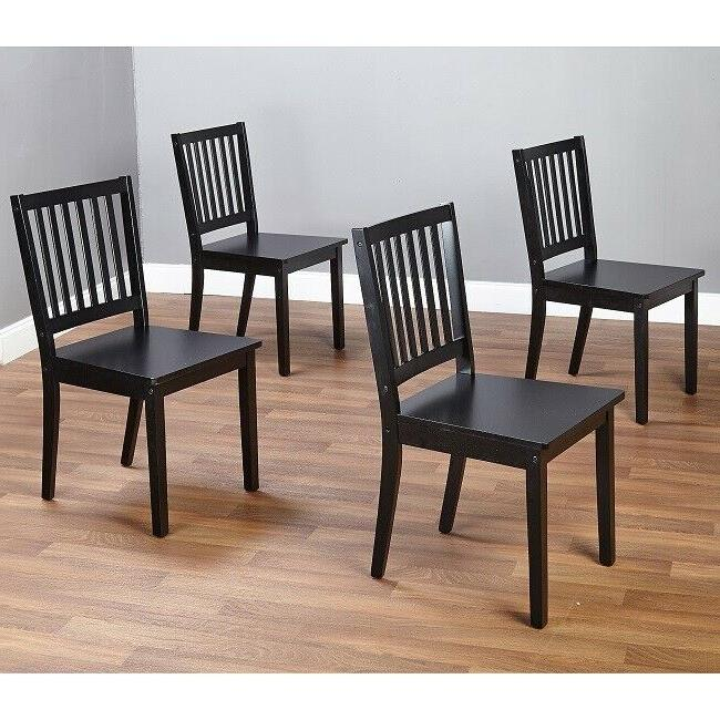 wooden dining chairs set of 4 table