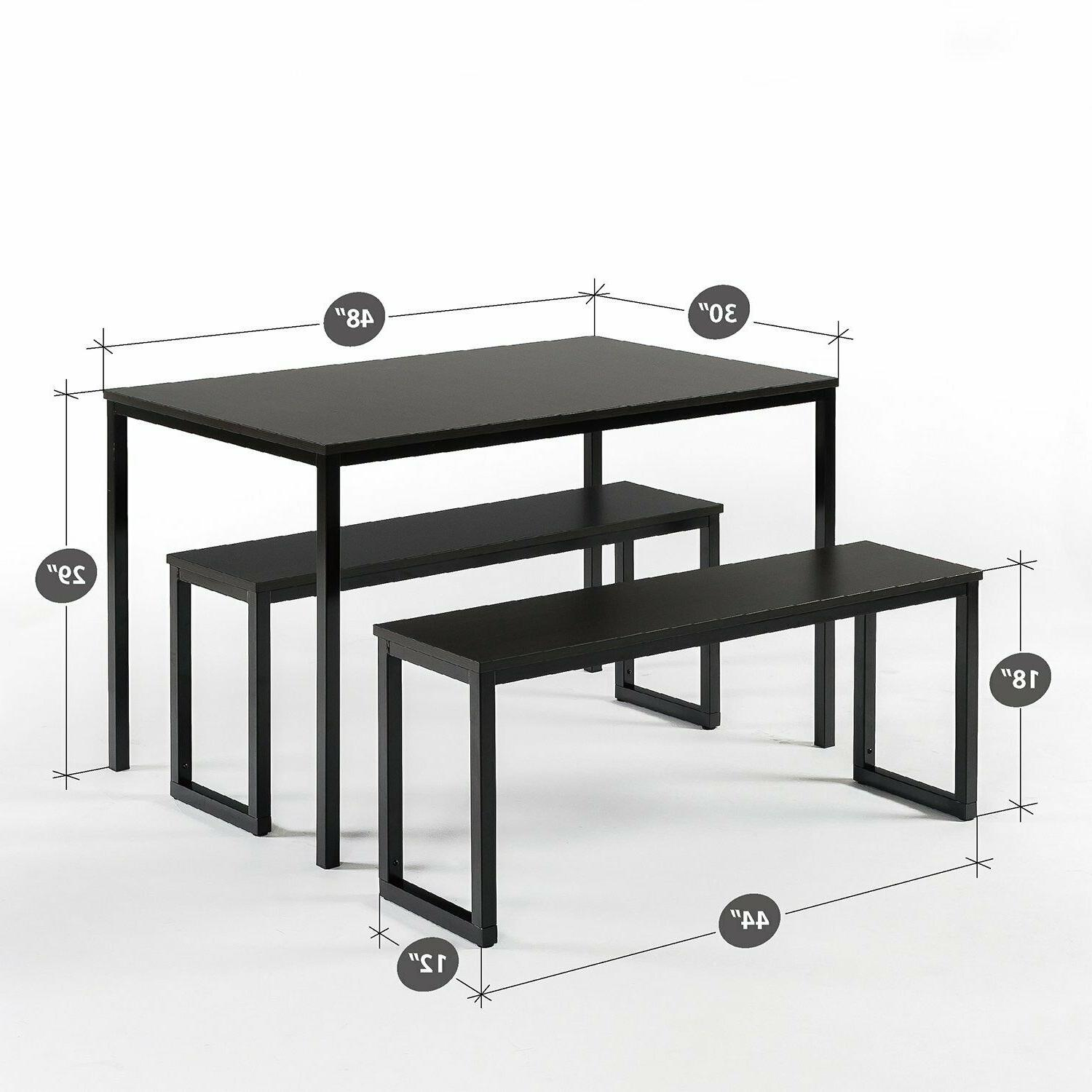 Zinus Louis Collection with Benches 3