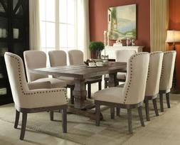 Acme Furniture Landon 7 Piece Dining Room Table Set