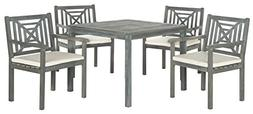Safavieh Outdoor Living Collection Del Mar 5-Piece Dining Se