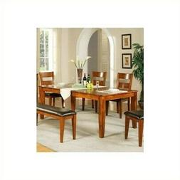 """Steve Silver Company Mango Dining Table with 18"""" Butterfly L"""