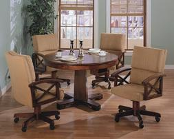 Coaster 100171 100172 Marietta 3 In 1 Game Table Chair 5 Pc