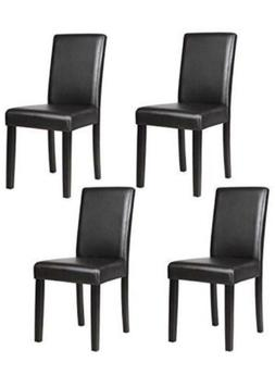 Mecor Leather Dining Chairs x4