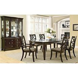 Coaster Meredith Contemporary Espresso Seven-Piece Dining Se
