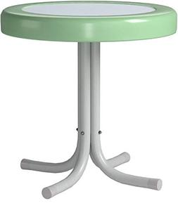 4D Concepts Metal Retro Table - 71320 - Round Top - Tapered