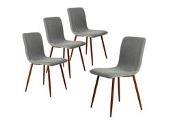 Mid Century Dining Chairs Chair Set Room Modern Style No Arm