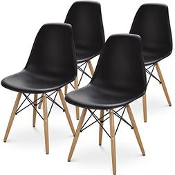 Giantex Set of 4 Mid Century Modern Style DSW Dining Chair S