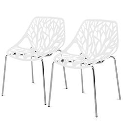 Best Choice Products Set of 2 Mid-Century Modern Eames Style