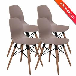 Modern Dining Chairs -No.1 Tufted Mid Century Eames Style DS
