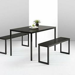 Modern Studio Collection Soho Dining Table with Two