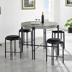 Steve Silver Morgan 5-PC Counter Height Dining Set MG4505PC