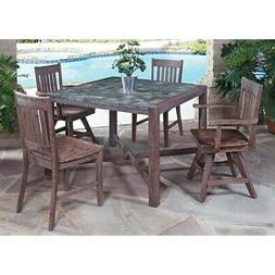Home Styles® Morocco 5-pc. Mixed Chair Dining Set