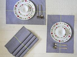 Mother's Day Gifts Set of 9 Classic Placemats for Kitchen Ta