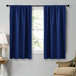 NICETOWN Navy Blue Curtains Blackout Draperies - Home