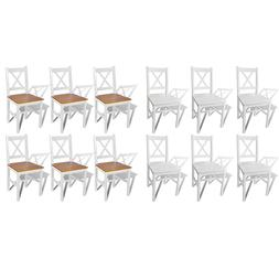 New Solid Pine Wood Dining Chairs Kitchen Dining Room Seats