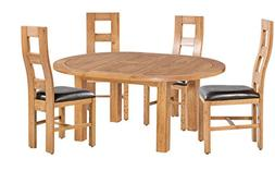 Trithi Furniture Newman American Solid Oak Dining and Kitche