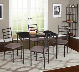 Latitude Run Noemi 5 Piece Dining Set with Baker's Rack