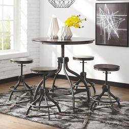 Signature Design by Ashley Odium 5 Piece Adjustable Height D