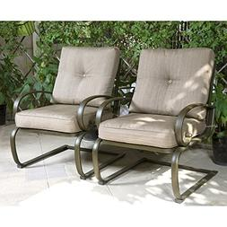 Cloud Mountain Set of 2 Patio Club Chairs Outdoor Dining Cha