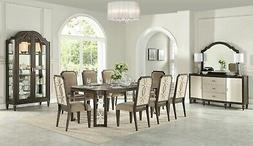 Acme Furniture Peregrine 9 Piece Dining Room Set