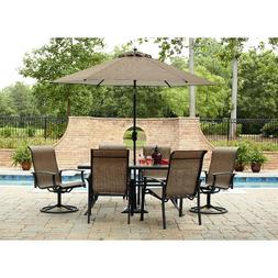 7 Piece Dining Set Perfect for Any Outdoor Dining Set Needs.