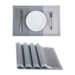 SUNSHINE FASHION Set of 4 Placemats,Placemats for Dining Tab