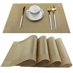Nice Garden Placemats Easy to Clean Plastic Kitchen table pl