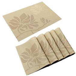 HEBE Placemats Heat Insulation Dining Table Place Mats Washa