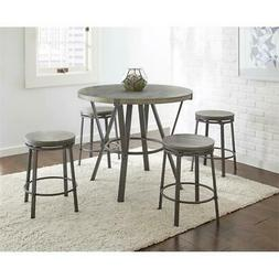 Steve Silver Portland 5 Piece Counter Height Dining Set OR42