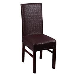 WXYSHOME PU Leather Striped Stretch Elastic Waterproof Chair